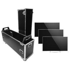 "Universal Flat Screen Case 60""- 80"" for 1-3 Flat Screens"