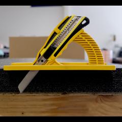 Foam Knife Sled + Foam Knive