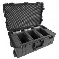 Multiple iPad case for up to 24 x iPad + 3 pcs of Cambrionix Series8 Charger stations